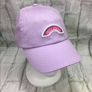 Under Armour Girls Lilac Hat Youth Adjustable